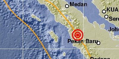 Gempa Terjado di Wilayah Sumatera dan Jawa