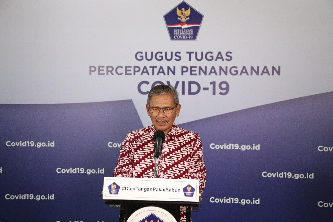 Kasus Positif COVID-19 di Indonesia Capai 10.118