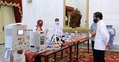 Indonesia Luncurkan 5 Produk Alkes Untuk Penanganan COVID-19