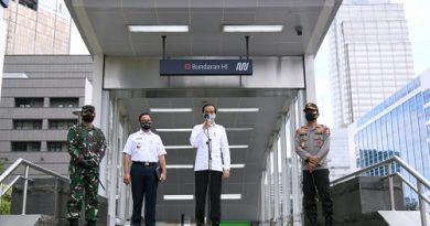 Jokowi Tinjau Kesiapan Penerapan Tatanan Baru