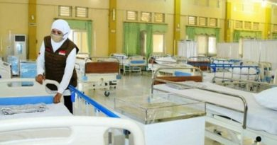 Doni Murdano Resmikan RS Lapangan untuk Pasien Covid-19 di Jatim