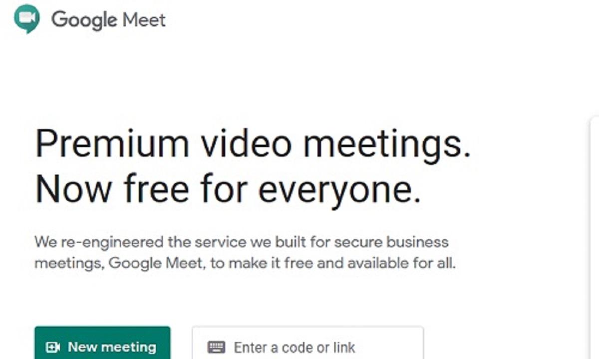 Cara Menggunakan Google Meet di Laptop