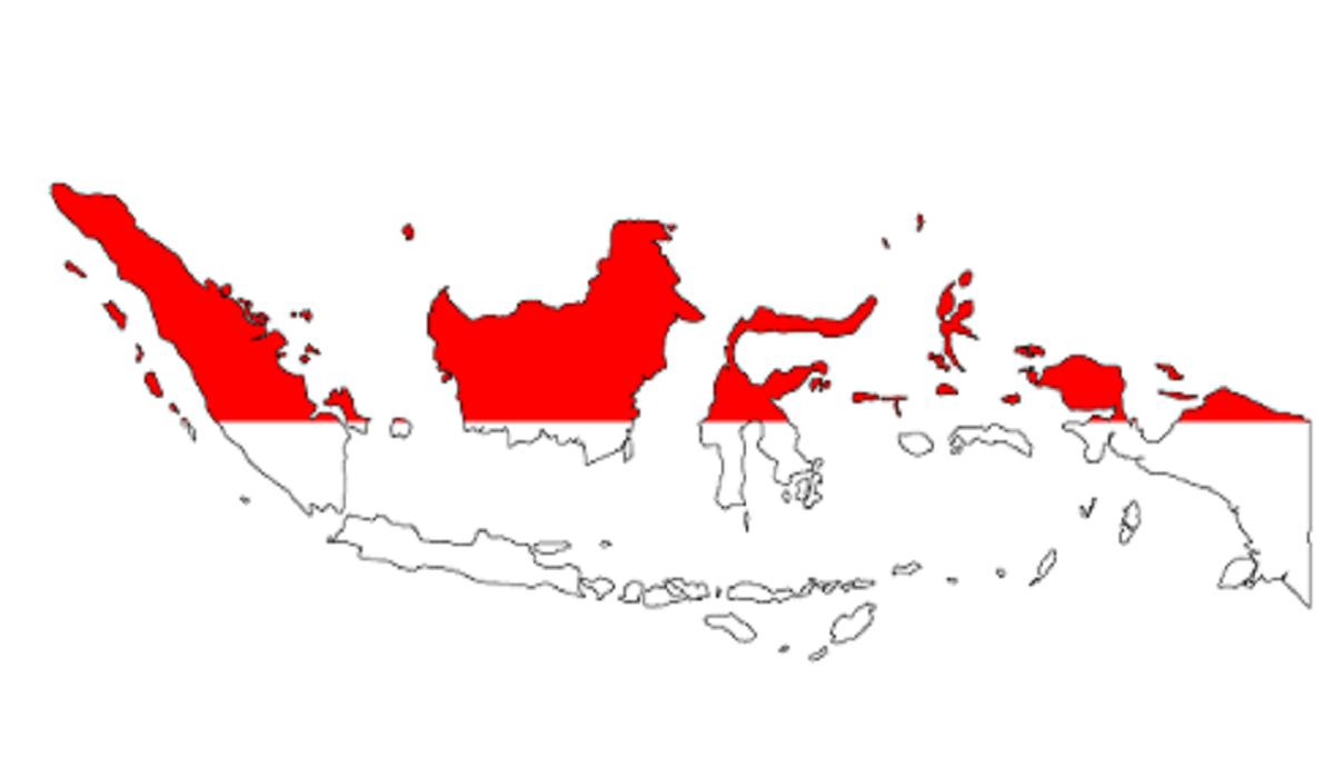 Jumlah Provinsi di Indonesia dan Luas Wilayahnya