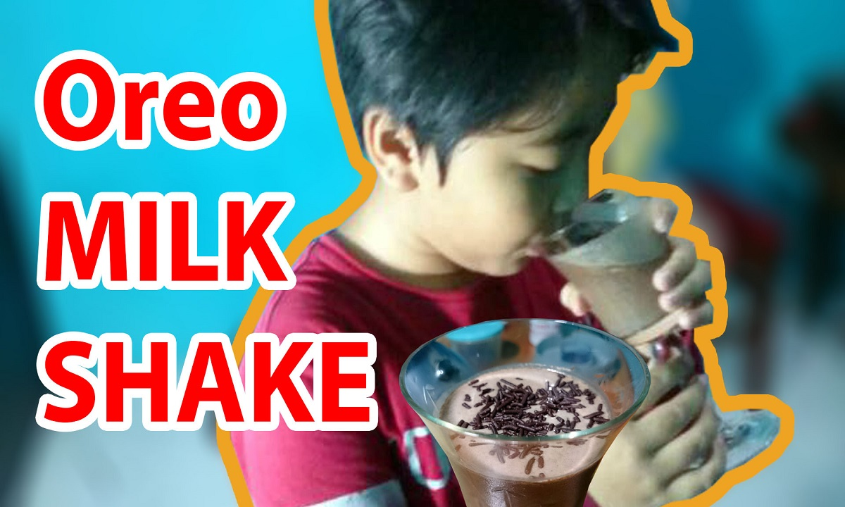 Resep Oreo Milk Shake Si Murah Meriah